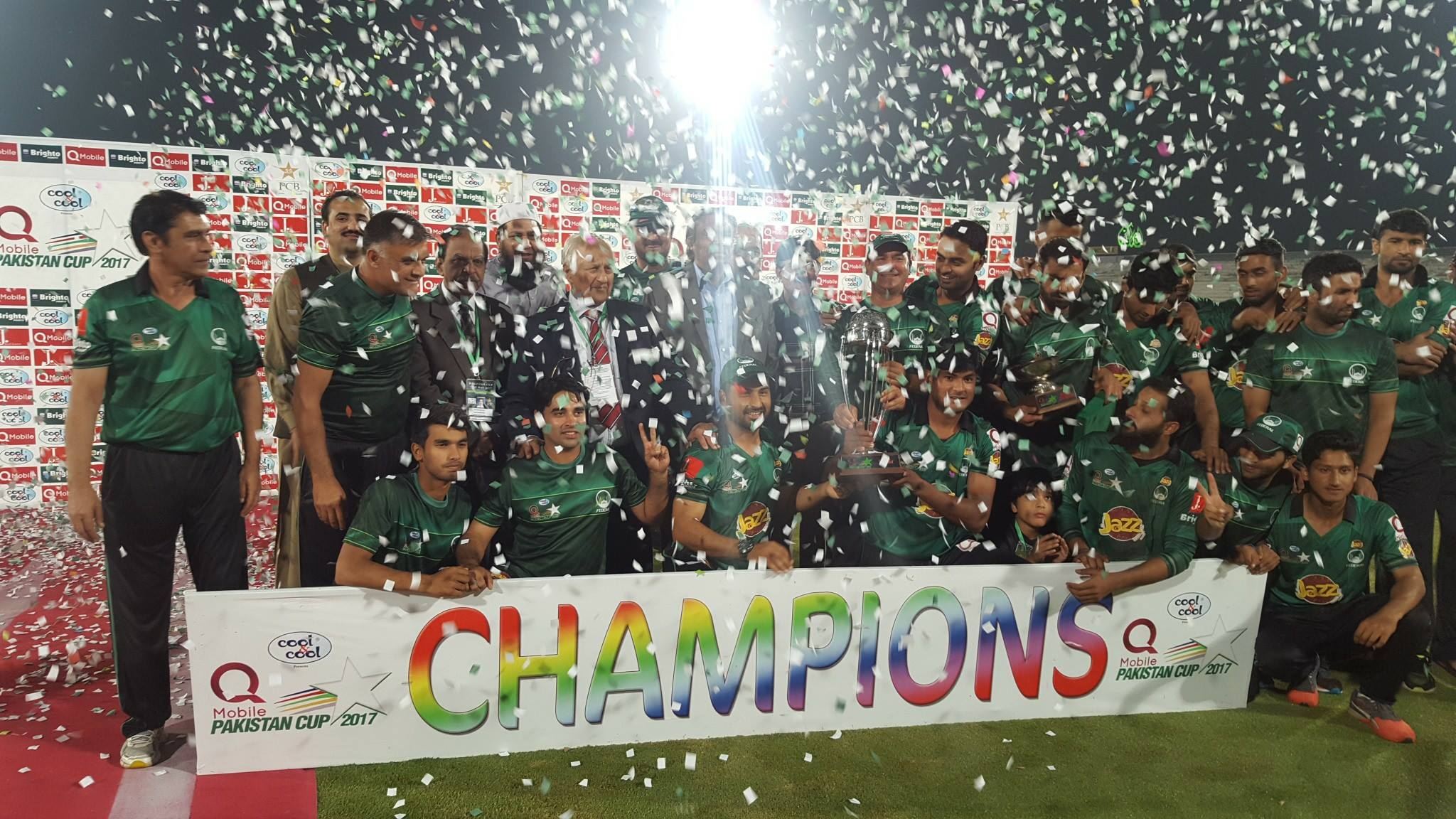 NEW DAY: The recently concluded Pakistan Cup not only answered a lot of critics but also served as a beacon of hope that the tide has finally turned in Pakistan's traditionally lethargic domestic circuit.  PHOTO COURTESY: PCB