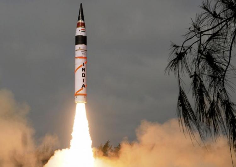 india test fires agni ii ballistic missile