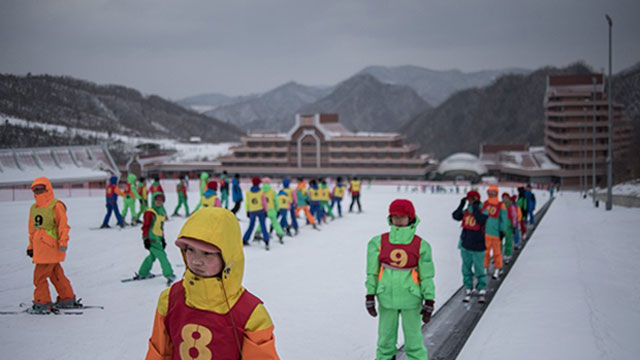 snow business empty slopes at north korea s ski resort