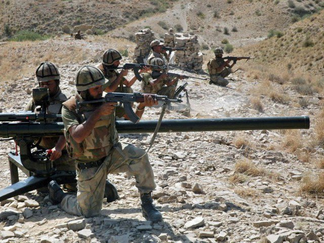 Security forces also conduct operations in Punjab, arresting suspects and recovering arms and ammunition. PHOTO: ISPR