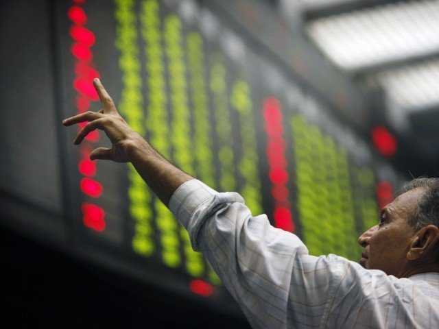 the kse 100 index has seen a positive run in the last few sessions photo express