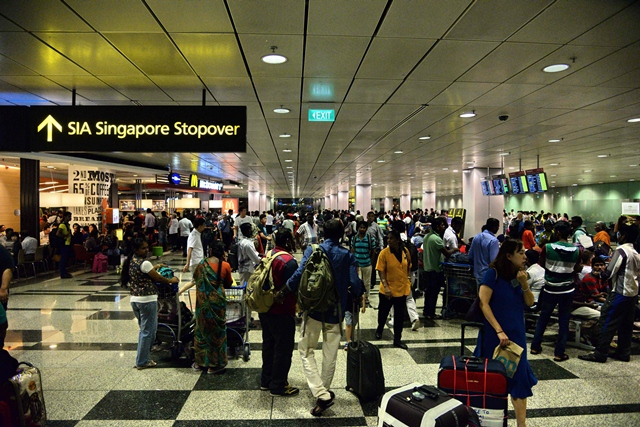 fire triggers evacuation at singapore s changi airport
