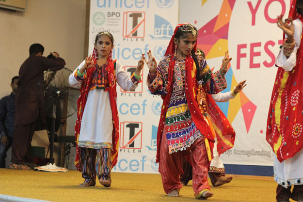 youth festival held at the national museum of pakistan
