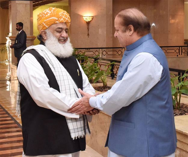 Venue of PDM's Kashmir Day rally changed after Nawaz's call to Fazl