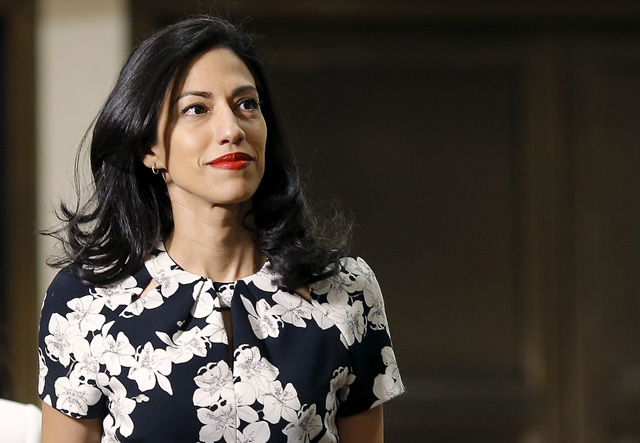 huma abedin files for divorce as estranged husband pleads guilty to sexting