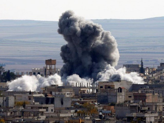 american missiles struck a syrian airbase suspected of the chemical attack photo reuters