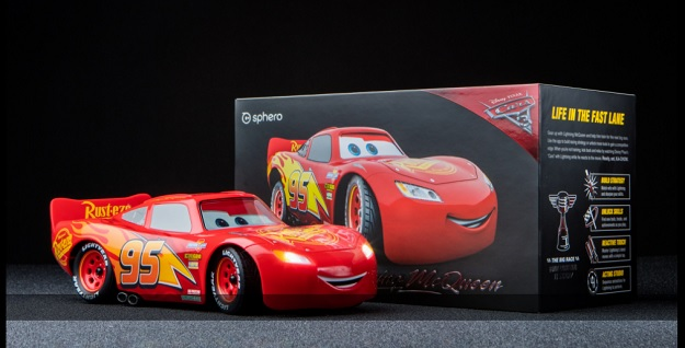 lightning mcqueen is now a smartphone controlled remote control car