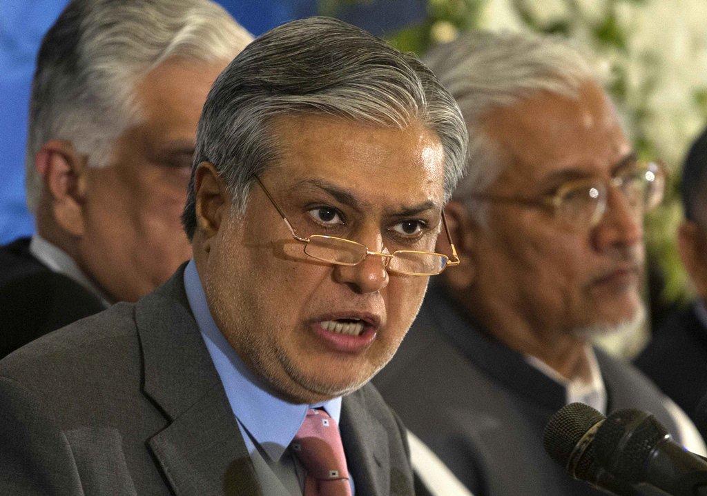 finance minister ishaq dar photo reuters file