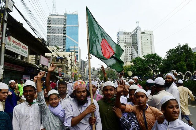 bangladesh removes un islamic justice statue from supreme court after protests