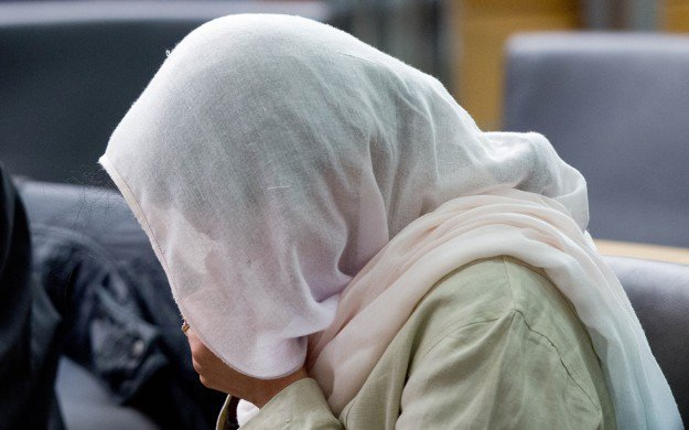 Eighteen-year-old Amna had eloped with Muhammad Yasin and married him in a court. PHOTO: Express