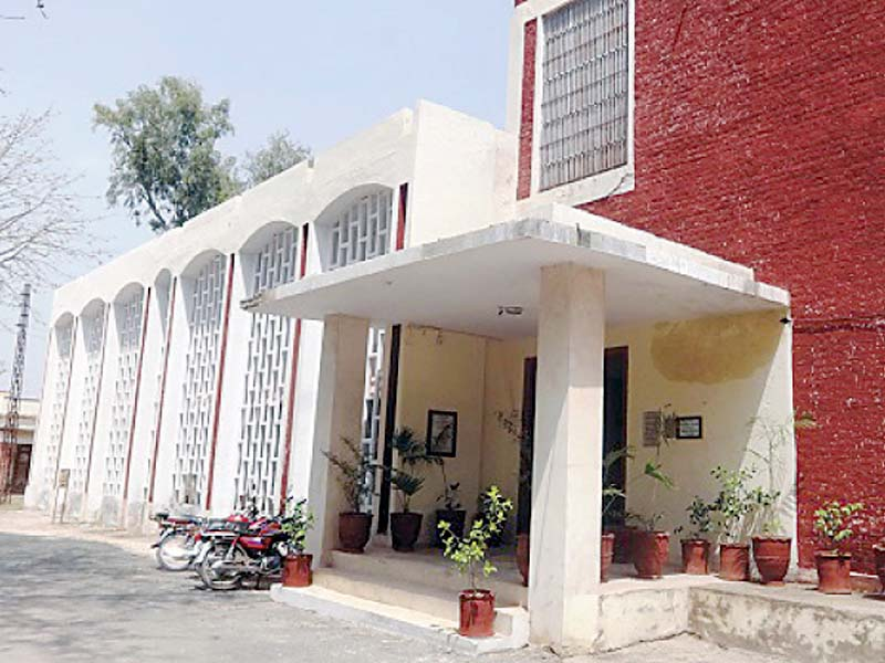 covered in dust toba tek singh public library becomes a forsaken place