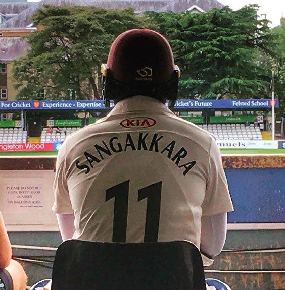 sangakkara falls short of record equalling century