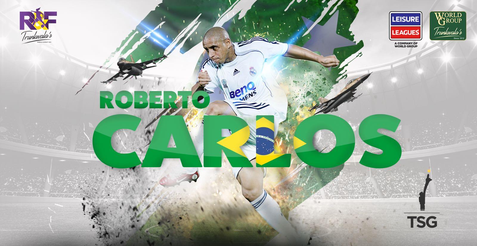 brazil legend roberto carlos to play in pakistan