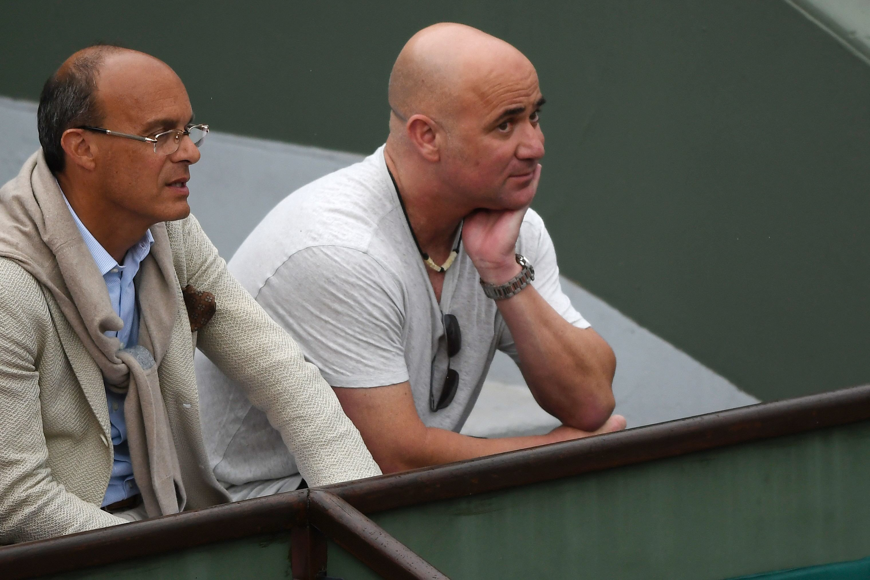 agassi working for free with djokovic