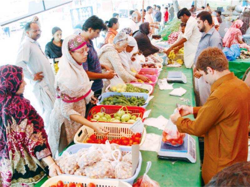 lhc summons mayor over high rates at ramazan bazaars