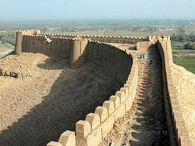 restoration of kot diji fort planned