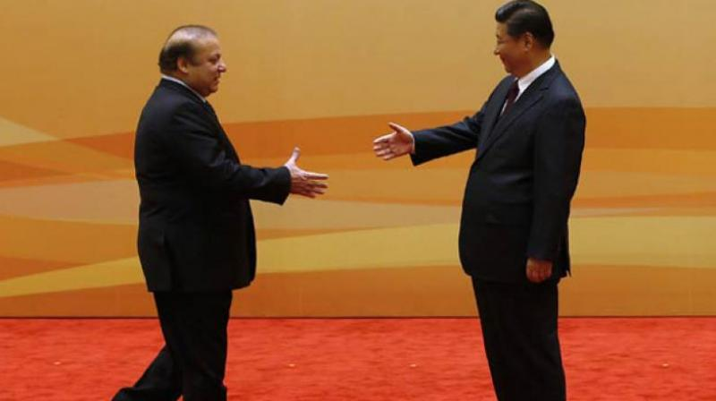 In this file photo, Prime Minister Nawaz Sharif meets Chinese President Xi Jinping. PHOTO: AFP