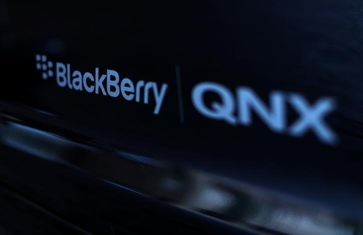BlackBerry's QNX system will give the once dominant smartphone maker a leg up in the burgeoning automotive industry. PHOTO: REUTERS