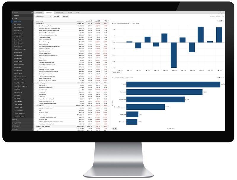 wealth management data startup addepar raises 140 million