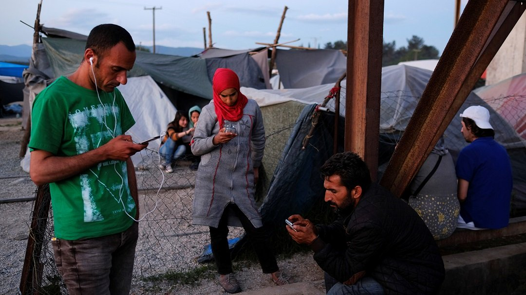 The app is used by over 400 charities and NGOs spread over 14 countries. PHOTO: REUTERS