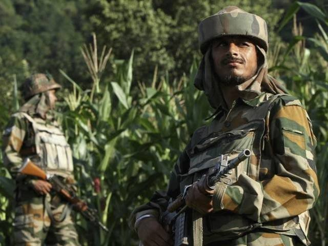 According to the ISPR data, Indian forces have violated ceasefire along the LoC over 400 times since the year began. PHOTO: Reuters/File