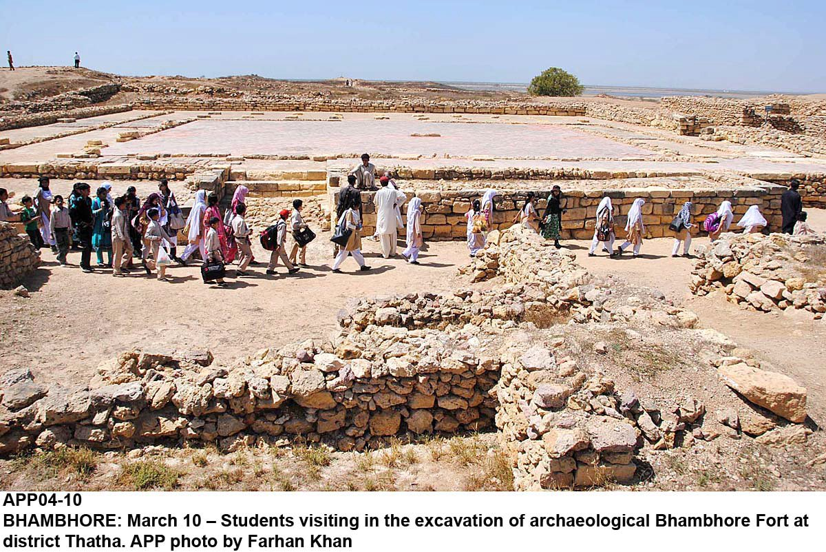 preserving heritage bhambore to get a facelift soon