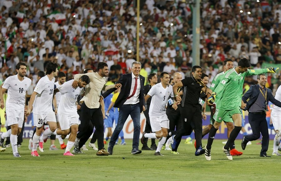 iran qualify for 2018 world cup