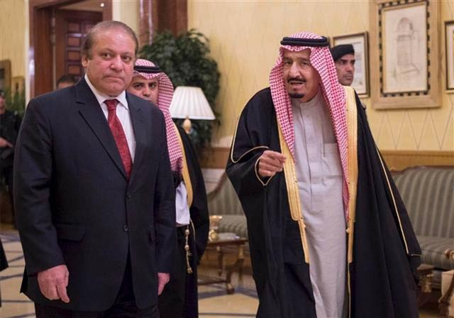 Nawaz says Islamabad will not take sides in brewing Middle East crisis. PHOTO: REUTERS