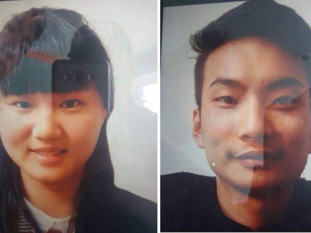 picture of the chinese who were kidnapped in quetta photo express