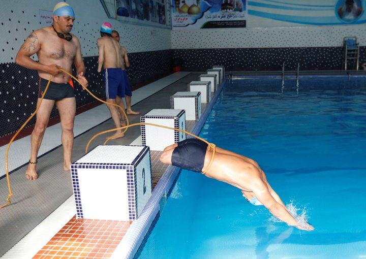 afghan amputee swimmer aims for international success