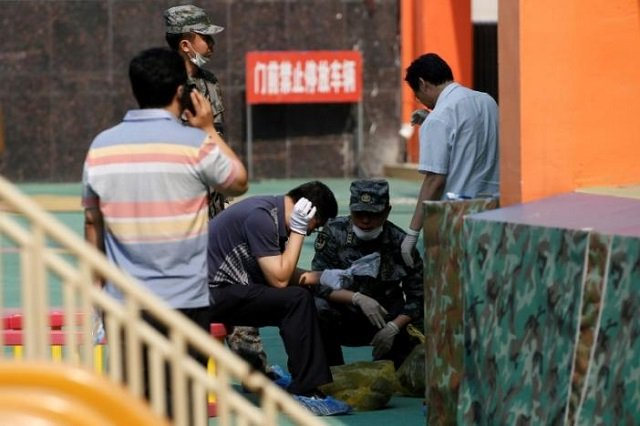 china probes crime in kindergarten blast that killed eight
