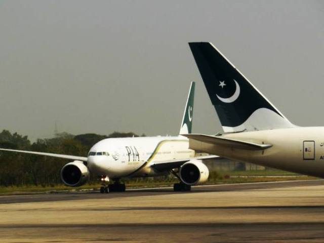 pia enjoys over 50 share in the domestic market while the rest is dominated by shaheen air and airblue photo faisal moin express