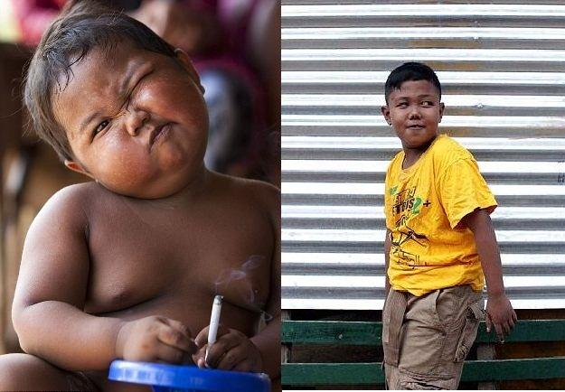 smoking baby kicks habit and now loves chocolate