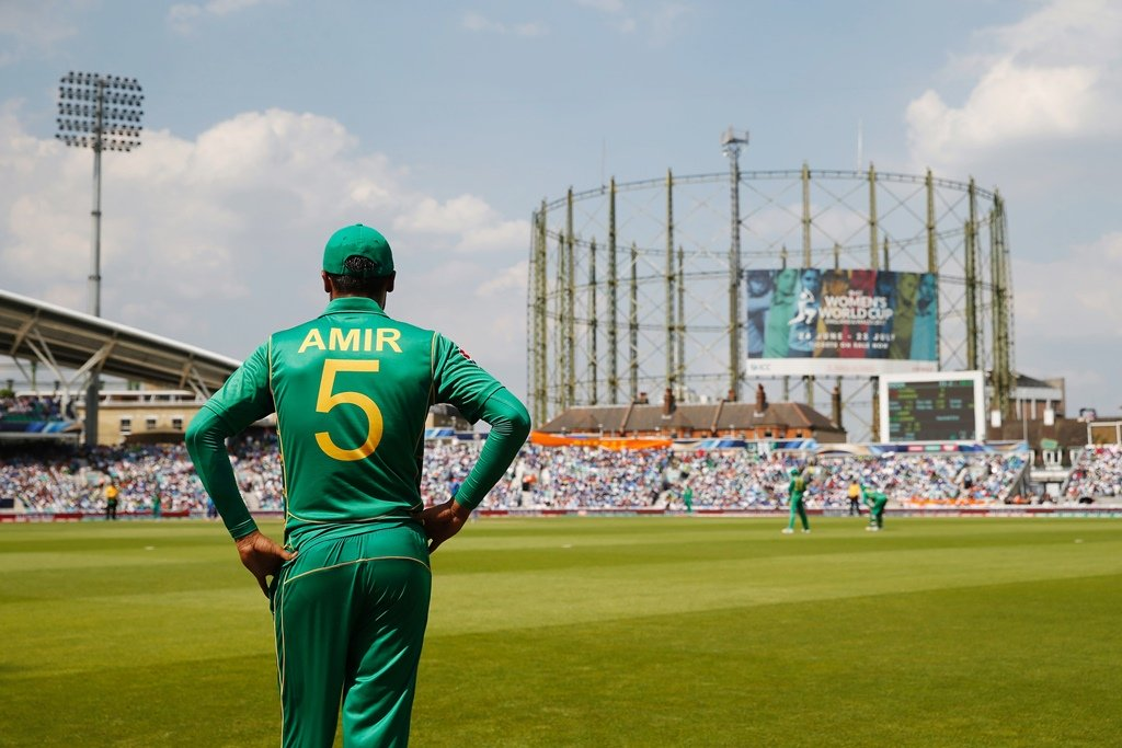Amir might have not enough wickets, but he was the most effective bowler of the tournament. PHOTO: AFP