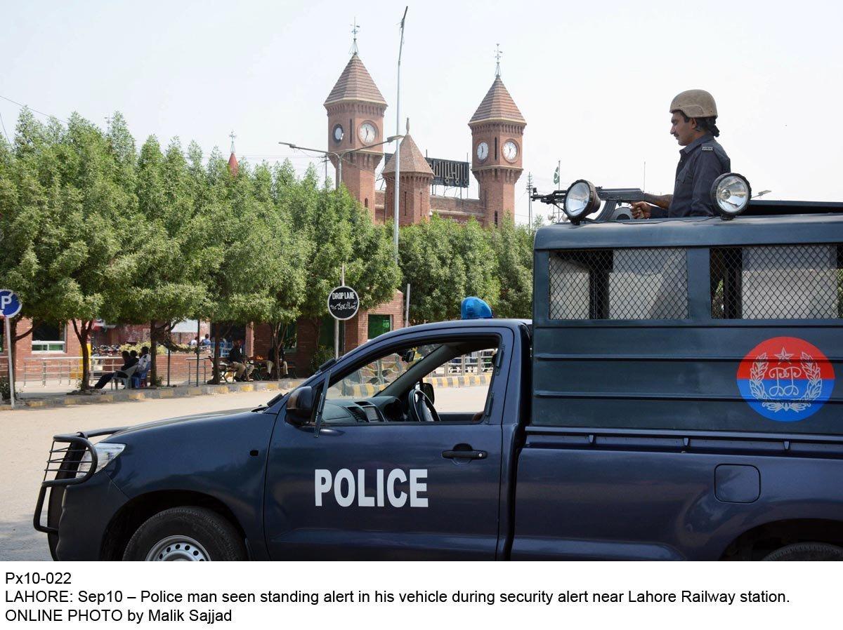Punjab police. PHOTO: ONLINE