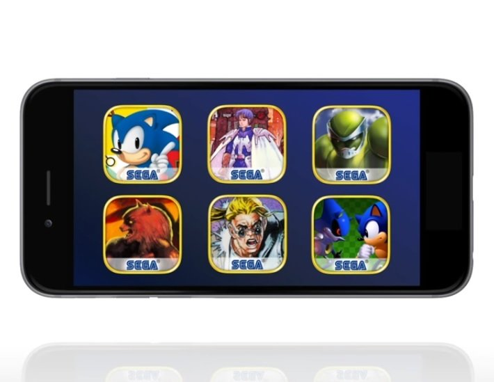 sega launches iconic retro games on iphone android for free