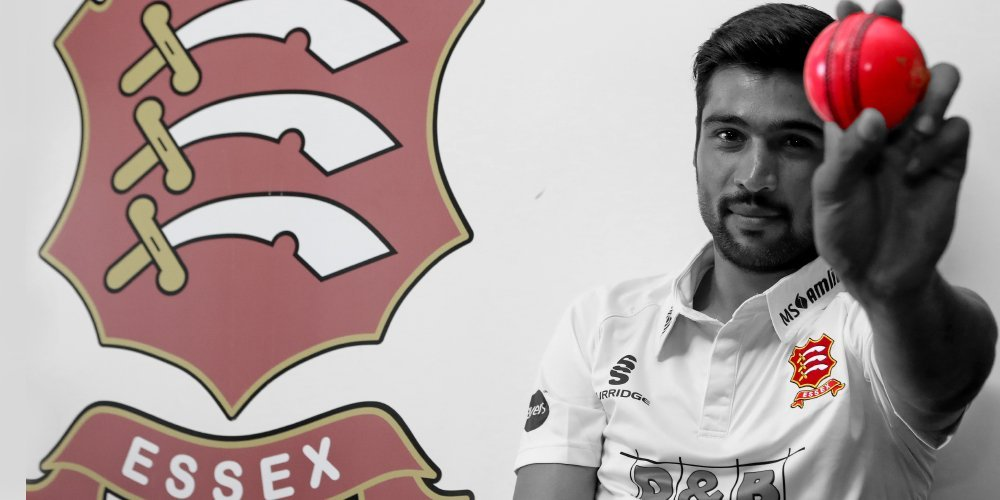 NEW HORIZONS: Mohammad Amir will make his English county debut for Essex and is hoping to learn more from the new experience. PHOTO COURTESY: TWITTER/ ESSEX