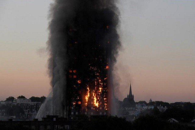 uk fire fears continue as 60 buildings deemed unsafe