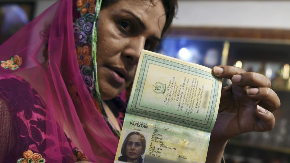 last week farzana jan was issued a passport that allows its bearer to select a gender other than male or female photo afp