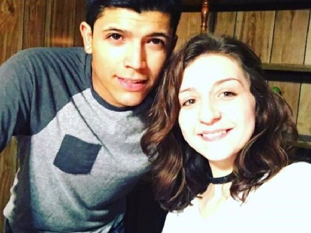 Monalisa Perez, 19, with deceased boyfriend Pedro Ruiz, 22. PHOTO: FACEBOOK