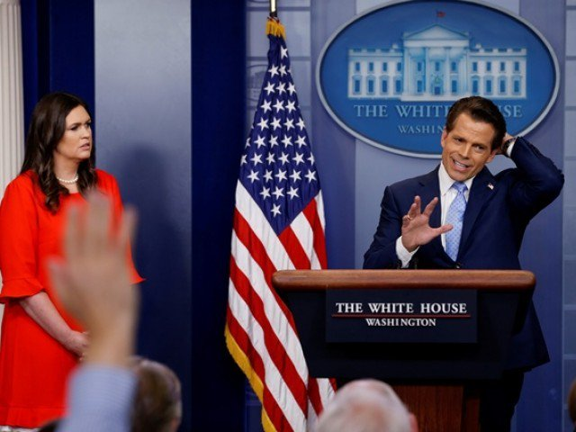 scaramucci out as trump s new chief of staff takes reins