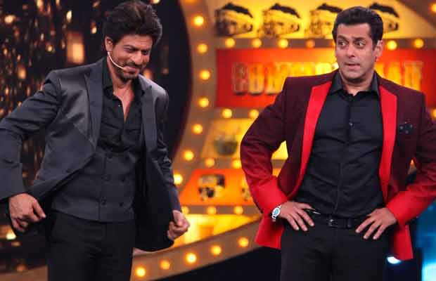 shah rukh and salman to compete for trps on small screen
