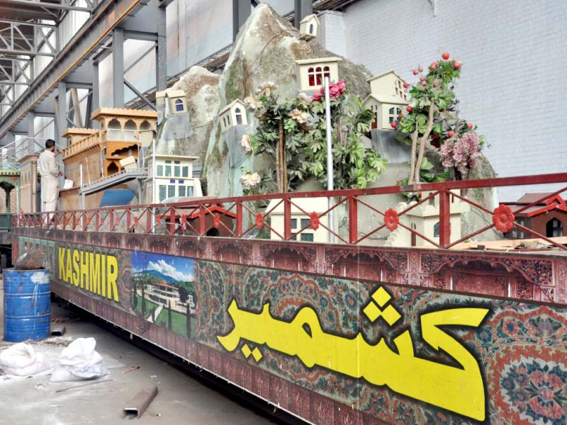 cultural show special azadi train ready to chug out