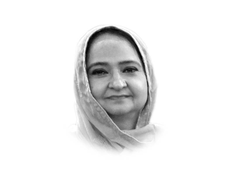 The writer is chairperson of the International Relations Department at the University of Karachi