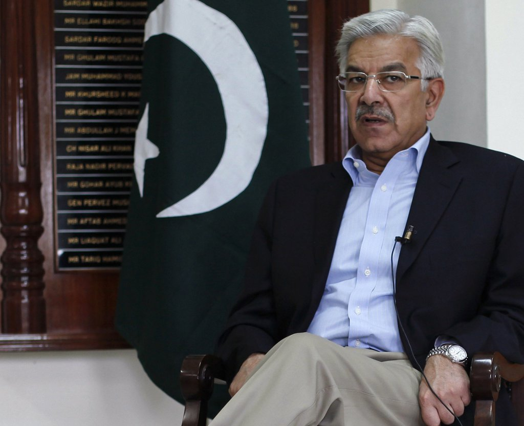 Foreign  Minister Khawaja Asif. PHOTO: REUTERS/FILE