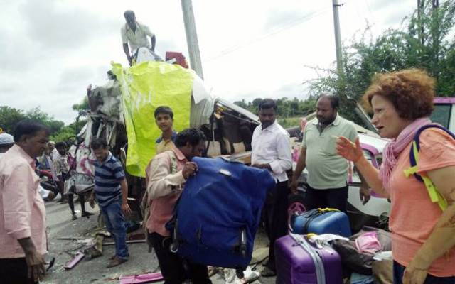 four spanish nationals killed in india road accident
