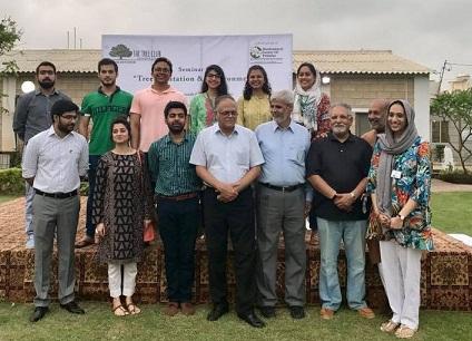 the tree club organises seminar on tree plantation environment