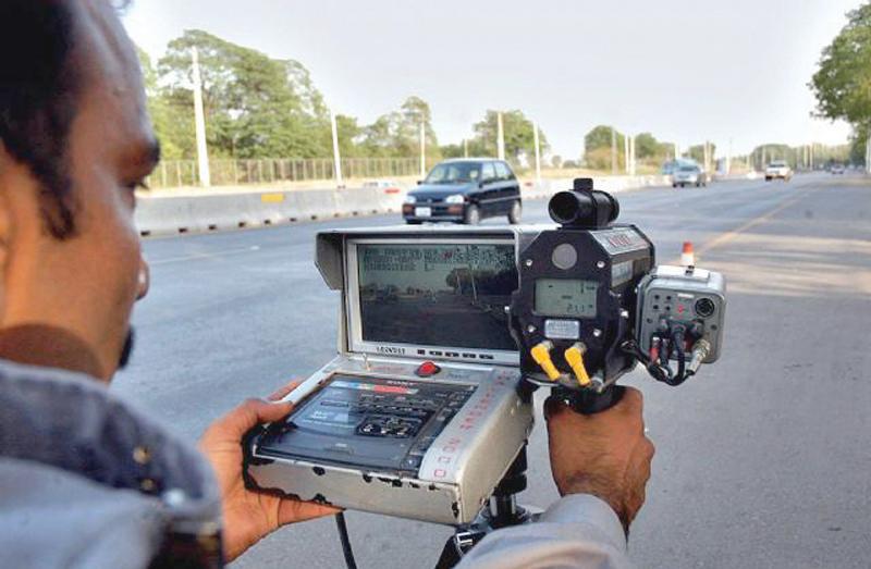 islamabad traffic police has no speed radar cameras