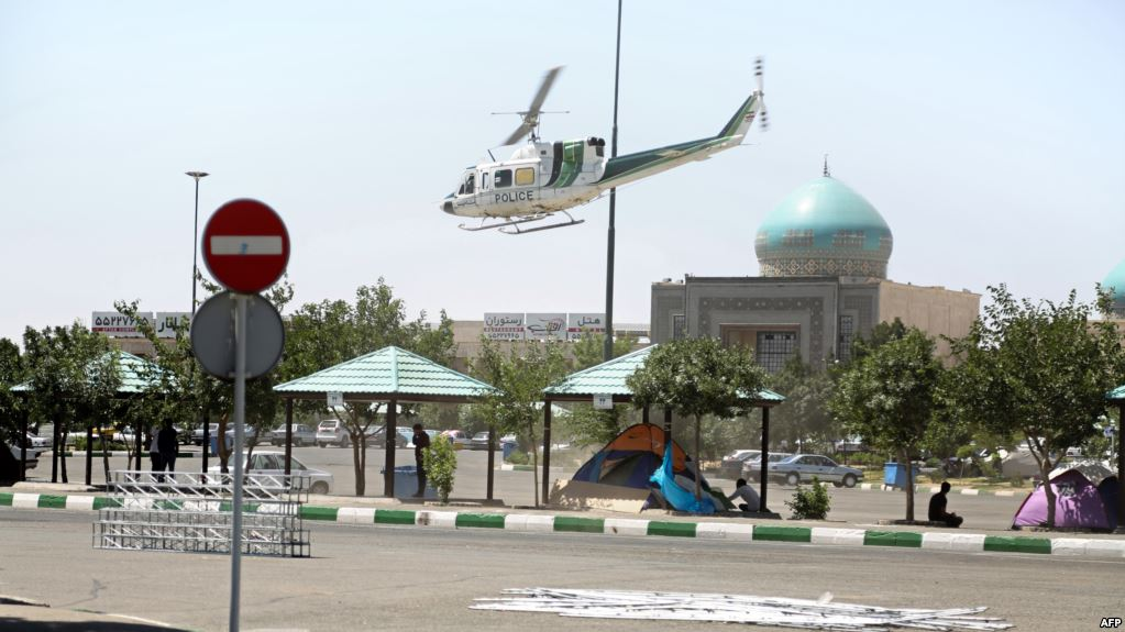 The mausoleum of Ayatollah Ruhollah Khomeini in Tehran that was attacked on June 7. PHOTO: AFP