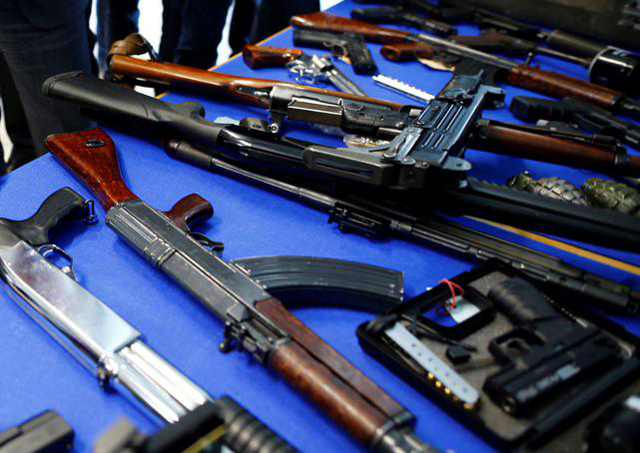 unlike criminals police lack modern weapons
